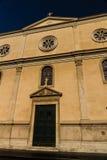 Nostra Signora del Sacro Cuore Piazza Navone, Rome, Italie Photo stock
