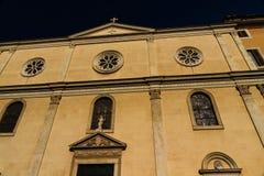 Nostra Signora del Sacro Cuore Piazza Navone, Rome, Italy Royalty Free Stock Photos