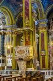 Nostra Signora della Consolazione e San Vincenzo kościół Genova, Obraz Royalty Free