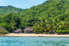 Nosy Be beach in Madagascar Royalty Free Stock Image