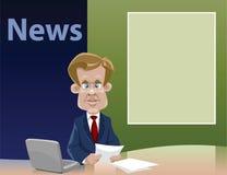 Notícia ilustração do vetor