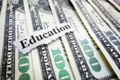 Notícia da educação Fotos de Stock