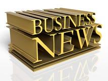 Notícia de negócio ilustração do vetor