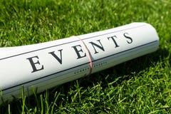 Notícia do evento Imagens de Stock Royalty Free