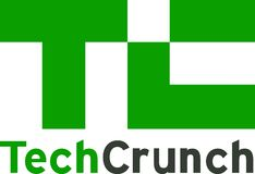 Notícia do logotipo da notícia da trituração da tecnologia ilustração royalty free