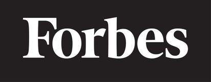 Notícia do logotipo de Forbes ilustração royalty free