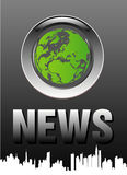 Notícia superior Fotos de Stock