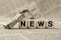 Notícias Imagens de Stock