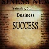Notícias de negócios ilustração stock
