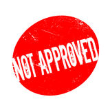 Not Approved rubber stamp Royalty Free Stock Photo