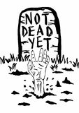 Not dead yet Stock Images