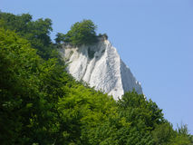 Not Dover. It is not Dover, but the chalk cliffs of Ruegen, Germany, are also a landmark of extraordinary beauty worth to be visited Stock Photo