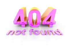 404 - not found Stock Photo