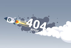 404 Not Found Error Message Internet Connection Problem Concept Banner Stock Photography