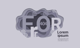 404 Not Found Problem Internet Connection Error Royalty Free Stock Photos