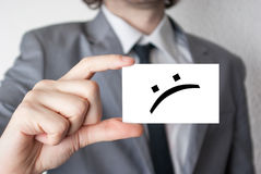 Not happy at all Royalty Free Stock Photo