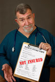 Not Insured Stock Image