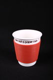 Not paper cup Royalty Free Stock Images