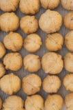 Not peeled walnuts- background Royalty Free Stock Photography
