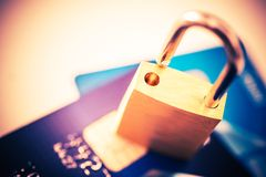 Not Safe Payments Concept Royalty Free Stock Images