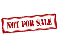 Not for sale Royalty Free Stock Images