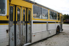 Not in service. Old bus Royalty Free Stock Photo