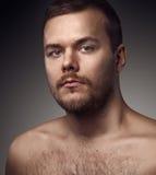 Not the shaven man Stock Photos