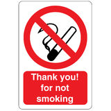 Not smoking signal Stock Photo