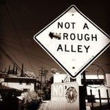 Not A (TH)Rough Alley Stock Photos