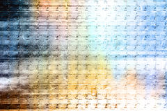 Not to stop motion. Texture of metallic sheet, can be utillized designers for creation and processing of different images Royalty Free Stock Photography