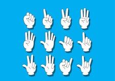 Notação da mão Foto de Stock Royalty Free