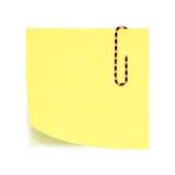 Nota appiccicosa Fotografia Stock