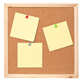 Nota appiccicosa del post-it Fotografie Stock