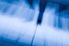 Nota azul Fotografía de archivo libre de regalías