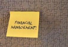 Nota da escrita que mostra a gest?o financeira Apresentar da foto do neg?cio eficiente e modo eficaz para controlar o dinheiro e imagens de stock
