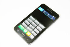 Nota da galáxia de Samsung Imagem de Stock Royalty Free