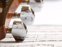 Nota da música Imagens de Stock Royalty Free