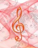 Nota da música ilustração do vetor