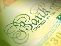 Nota de banco Imagens de Stock