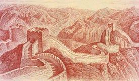 Nota de banco do chinês de 1 dólar Foto de Stock Royalty Free