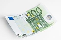nota de banco do euro 100 Foto de Stock Royalty Free