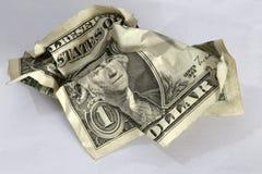 Nota de dólar Foto de Stock