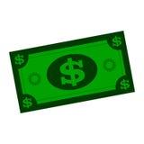 Nota de dólar Imagem de Stock Royalty Free