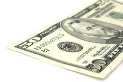 Nota de dólar americano Imágenes de archivo libres de regalías