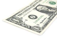 Nota de dólar americano Imagenes de archivo