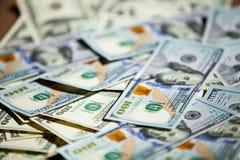Nota de dólar 100 nova Imagens de Stock Royalty Free