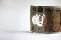 Nota de diez libras Banco de Inglaterra fotografía de archivo libre de regalías