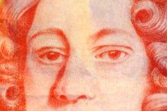 Nota de la libra Fotografía de archivo libre de regalías