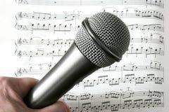 Nota de la música Imágenes de archivo libres de regalías