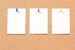 Nota de papel Fotografía de archivo